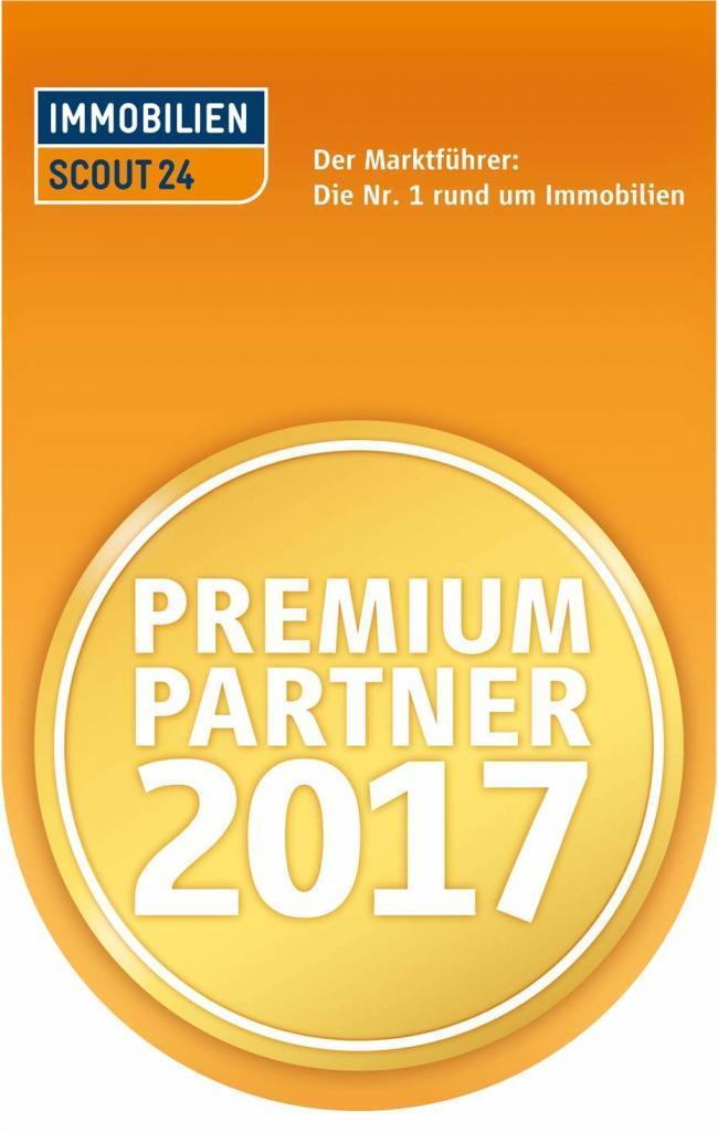 Siegel Premium Partner 2017 von ImmobilienSout24