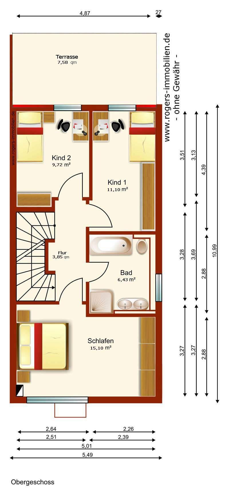 Immobilien M 252 Nchen Hadern Neuwertige Dhh Zur Miete