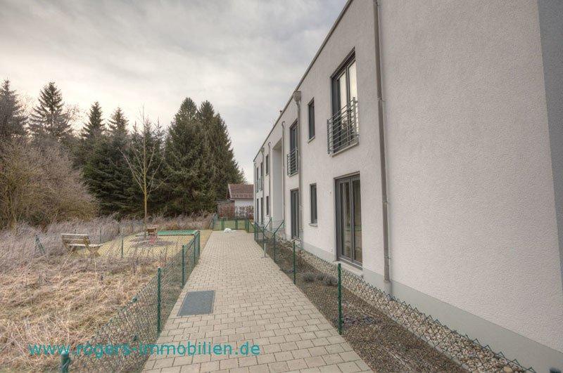 2 Zi Wohnung Wolfratshausen Zugang zum Haus