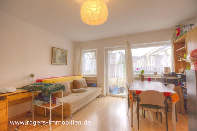München Immobilien Sendling Helles Wohnzimmer