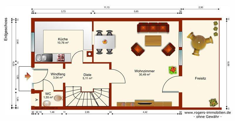 Germering Reihenhaus Erdgeschoss