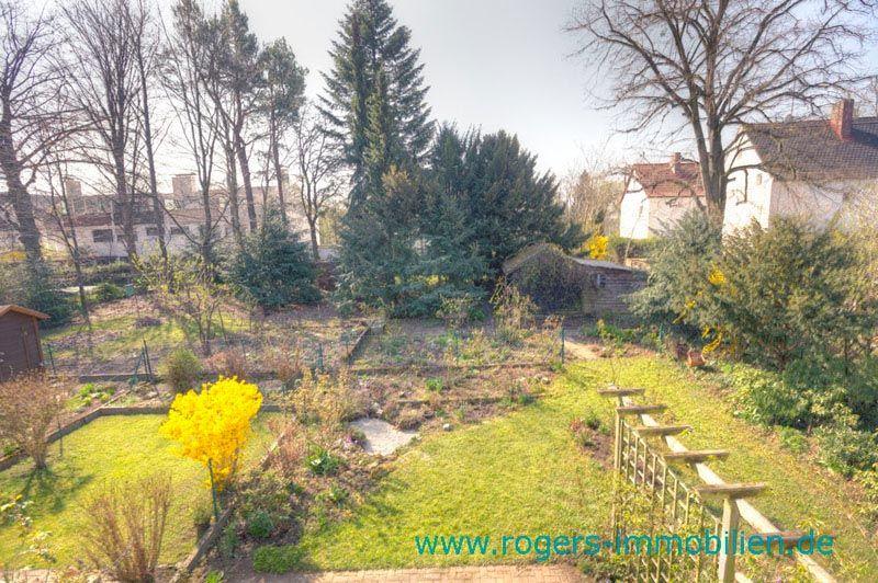 München Laim Reihenhaus Garten von oben