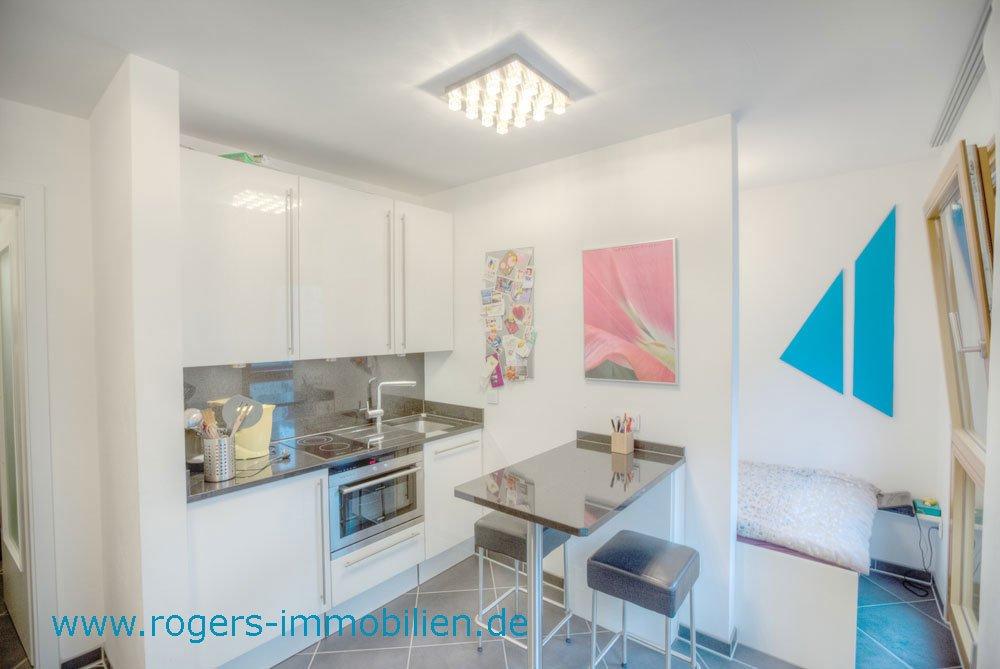 München Maxvorstadt Mietwohnung Einbaukueche
