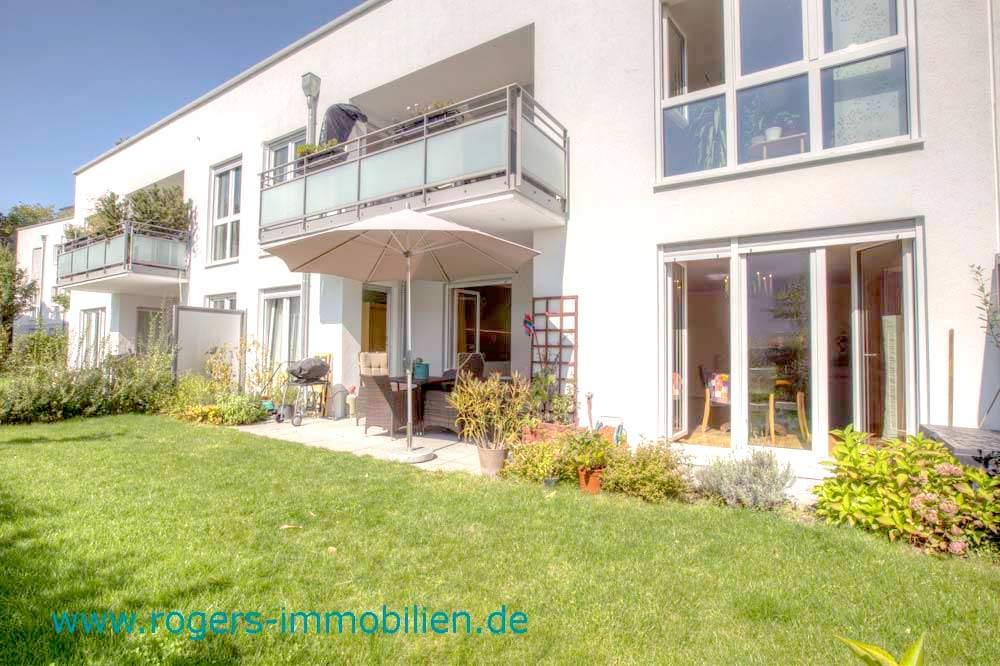 Herzogpark: Gartenwohnung mit luxuriöser Ausstattung