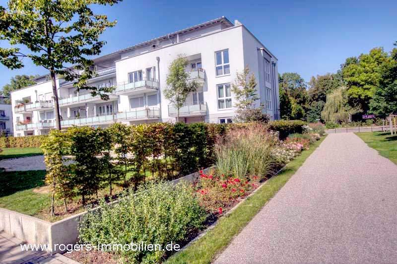 München Bogenhausen Immobilienmakler Gartenwohnung Hausansicht