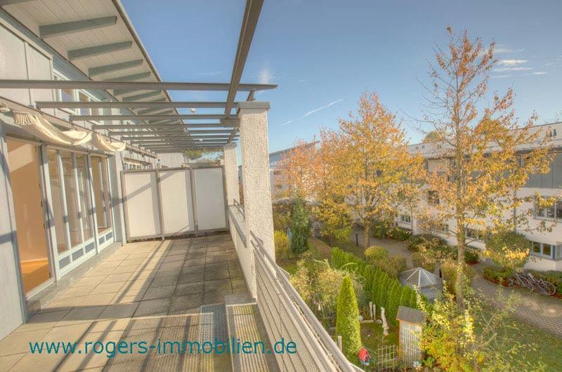 Taufkirchen Immobilienmakler Wohnung zum Kauf Sonnige Terrasse