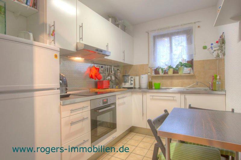 München Laim Immobilienmakler Wohnung Bad Küche mit EBK