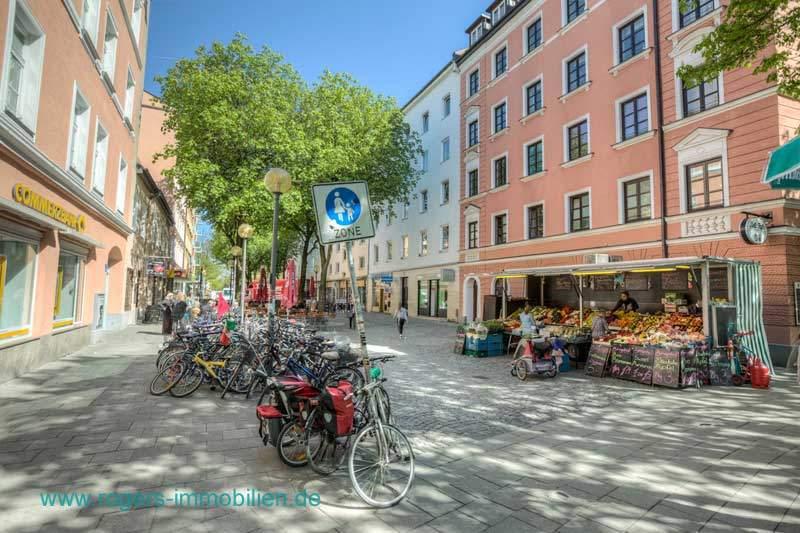 München Haidhausen Immobilienmakler Altbauwohnung Sehr gute Infrastruktur