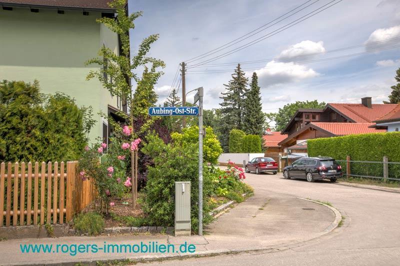 München Aubing Immobilienmakler Gartenwohnung mieten Ruhige Anliegerstraße