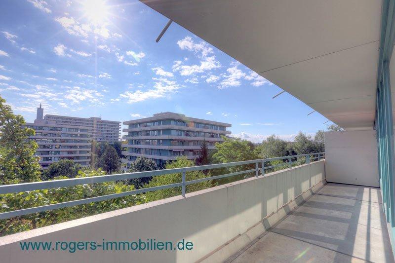 München Sendling Immobilienmakler Wohnung Blick zur Ostseite