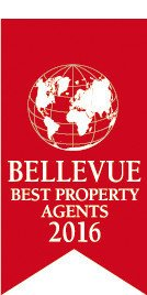 """Bellevue Auszeichnung: """"Best Property Agents 2016"""""""