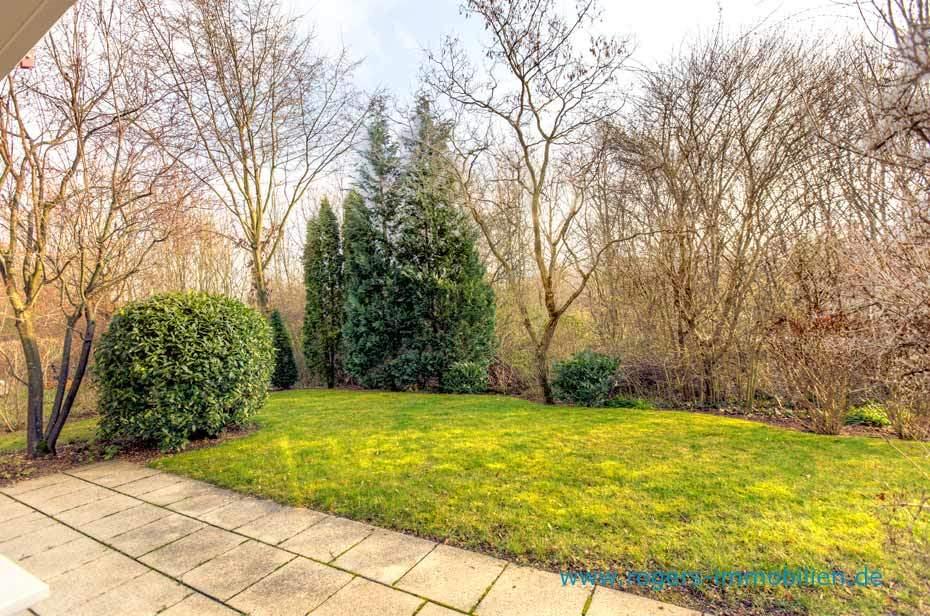 München Berg am Laim Immobilienmakler, Gartenwohnung mieten, Schöner Garten