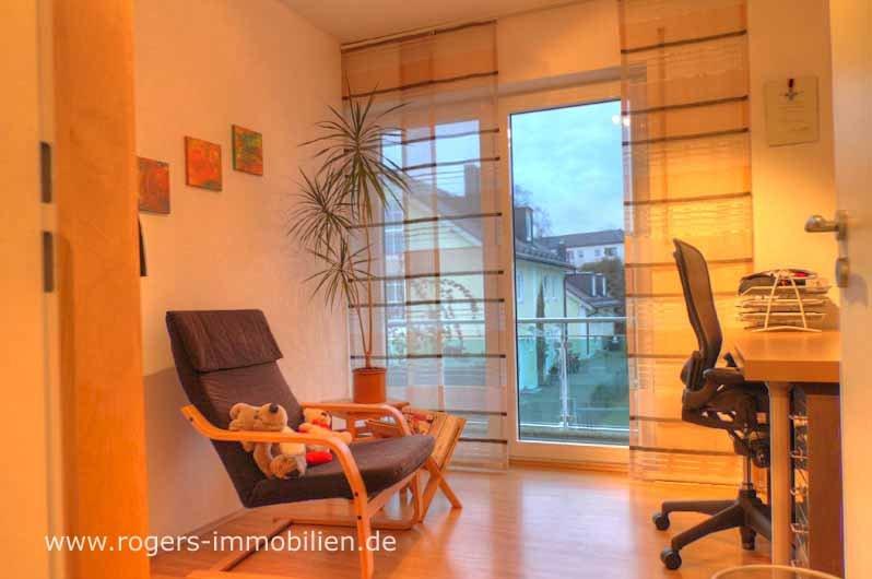 Zu vermieten, Forstenried Ost, 3 Zi-Wohnung mit ca. 71 qm, schönes Büro