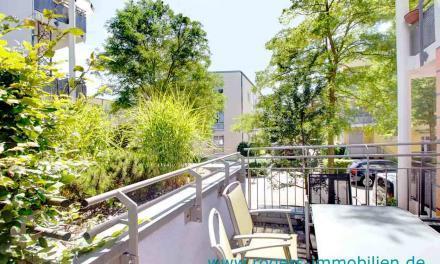 Obermenzing: Moderne Wohnung mit Balkon und Terrasse in ruhiger Lage