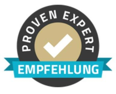 Proven Expert Empfehlung für Rogers Immobilien, München