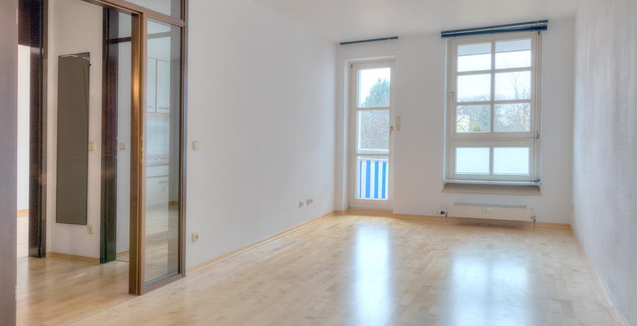 Gut geschnittene Wohnung mit neuwertigem Parkett