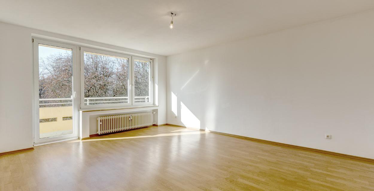Perfekt geschnittene Wohnung mit 2 Balkonen