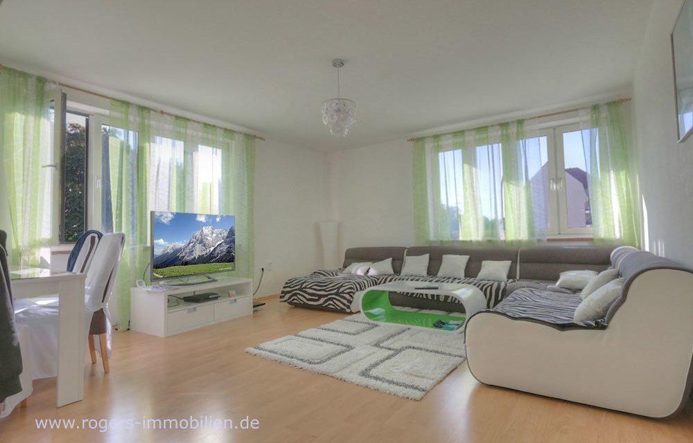 Sehr helle Wohnung mit tollem Grundriss