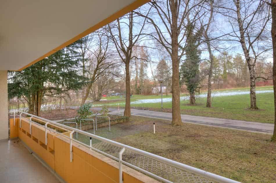 München Perlach Immobilienmakler, Wohnung, Balkon