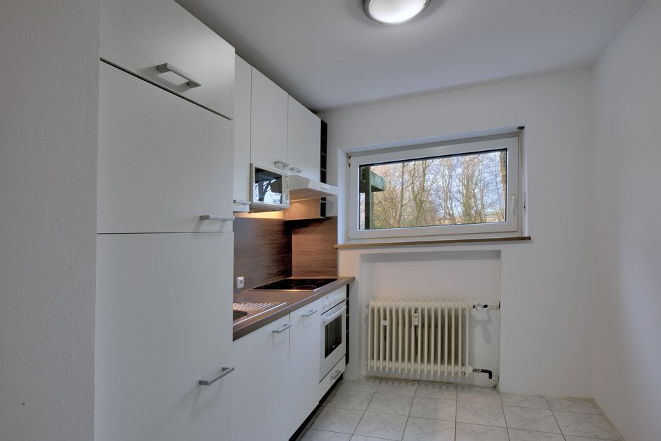 München Perlach Immobilienmakler, Küche mit EBK