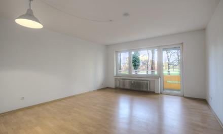 Sehr hübsche und perfekt geschnittene Wohnung mit Balkon