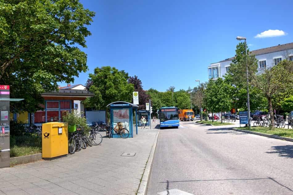 Bushaltestelle Fürstenried
