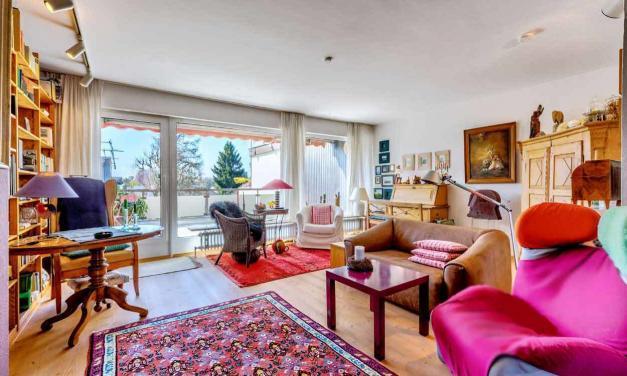 Großzügige Terrassenwohnung mit toller Ausstattung in ruhiger Lage + Virtuelle 3D-Tour +