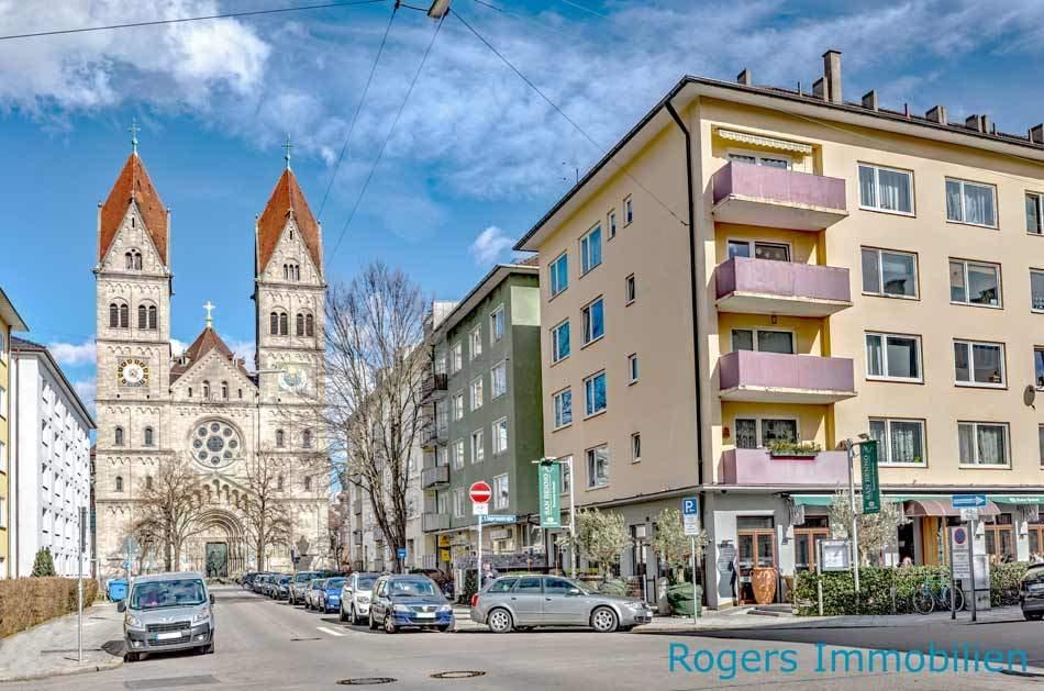 Hausansicht Wohnbüro München Fürstenried