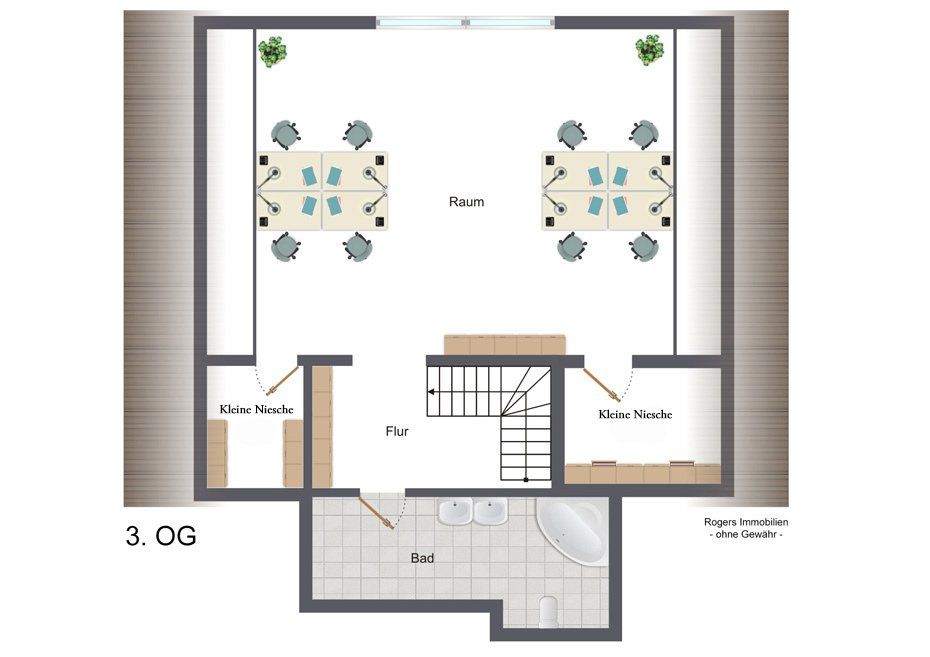 wohnbüro münchen fürstenried grundriss 3og