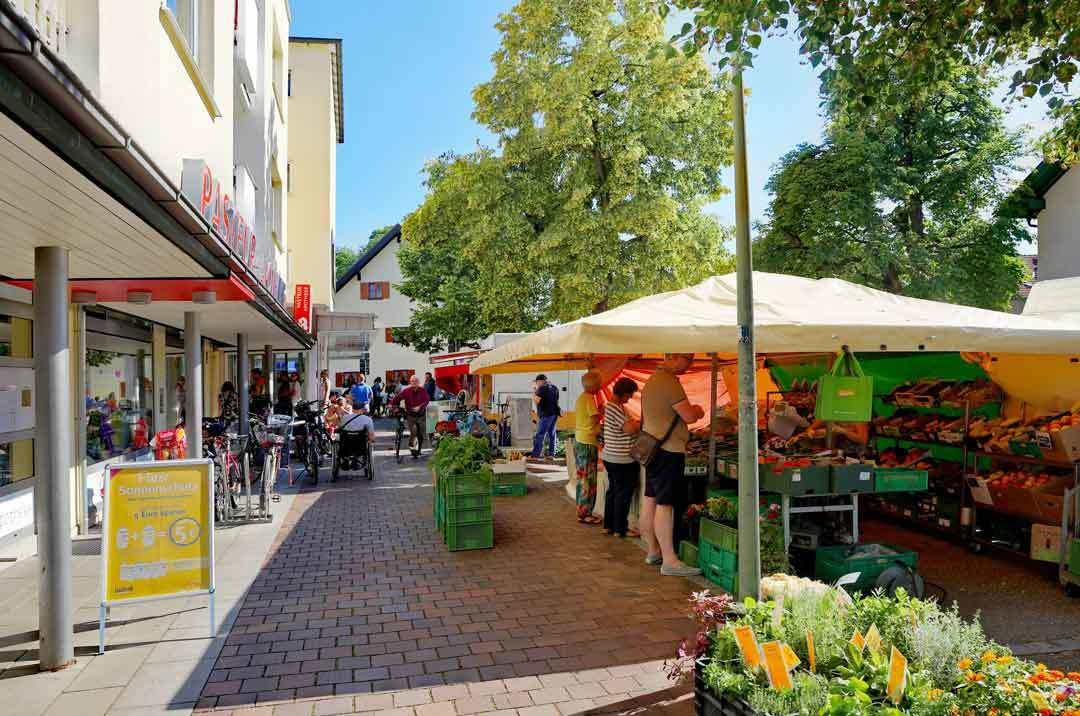 Markttag in München Hadern