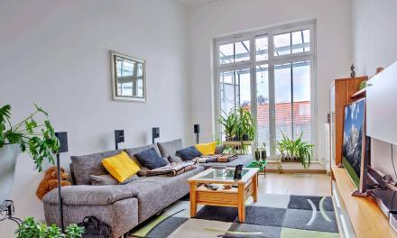 Hochwertige Maisonette-Wohnung mit Terrasse und Balkon
