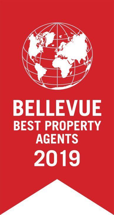 """Wir sind als """"Best Property Agents 2018"""" von Bellevue, Europas größtes Immobilienmagazin, ausgezeichnet worde"""