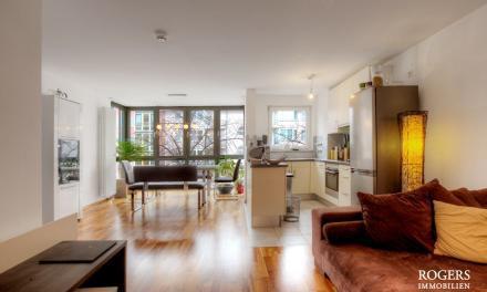 Charmante City-Wohnung mit sehr guter Ausstattung