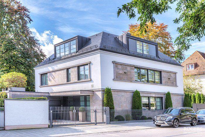 Immobilienfotografie schönes Haus von außen