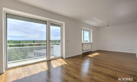 RESERVIERT:  Großzügige Wohnung mit Blick bis zu den Alpen und der Frauenkirche