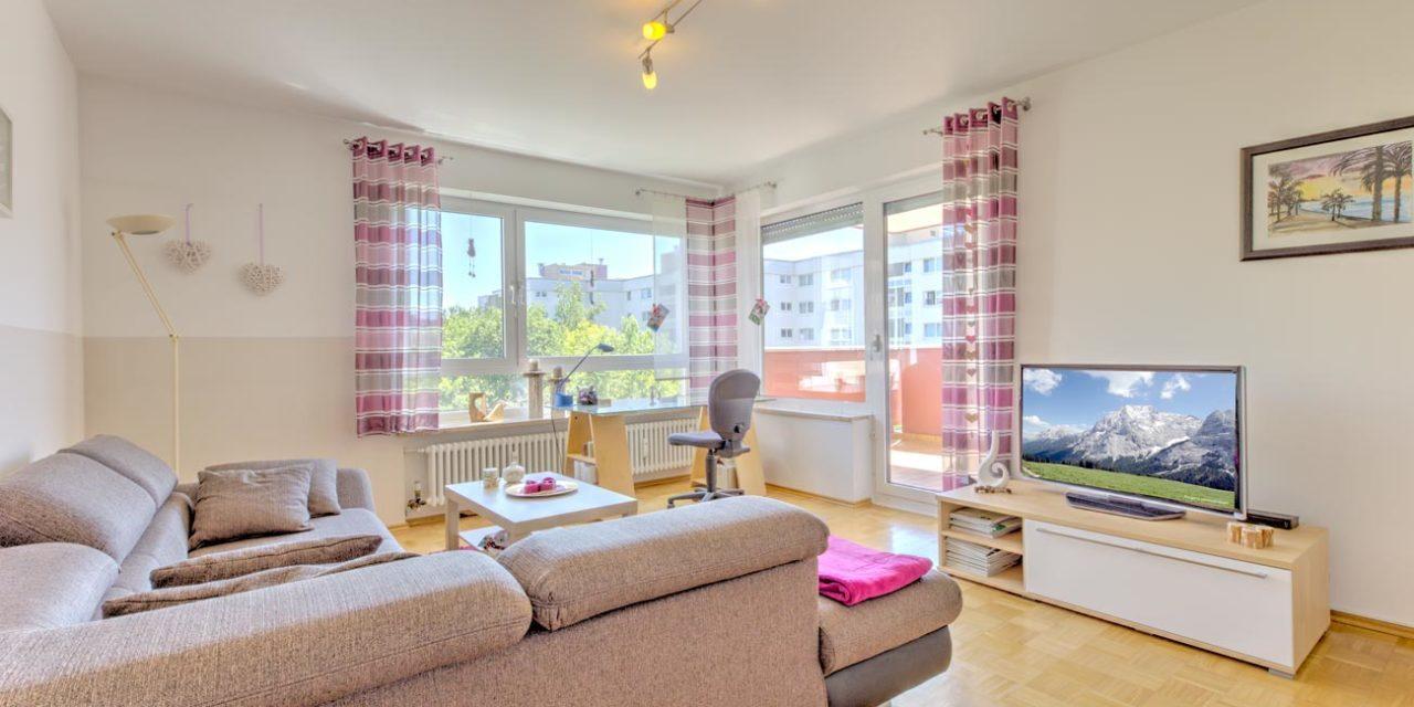 RESERVIERT: Perfekt geschnittene Wohnung mit Blick ins Grüne