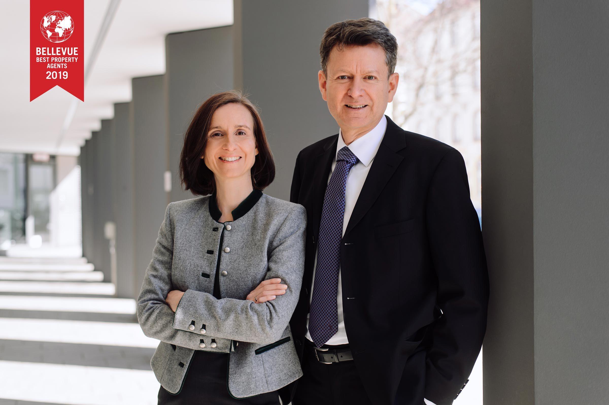 Katerina und Thomas Rogers, Immobilienmakler