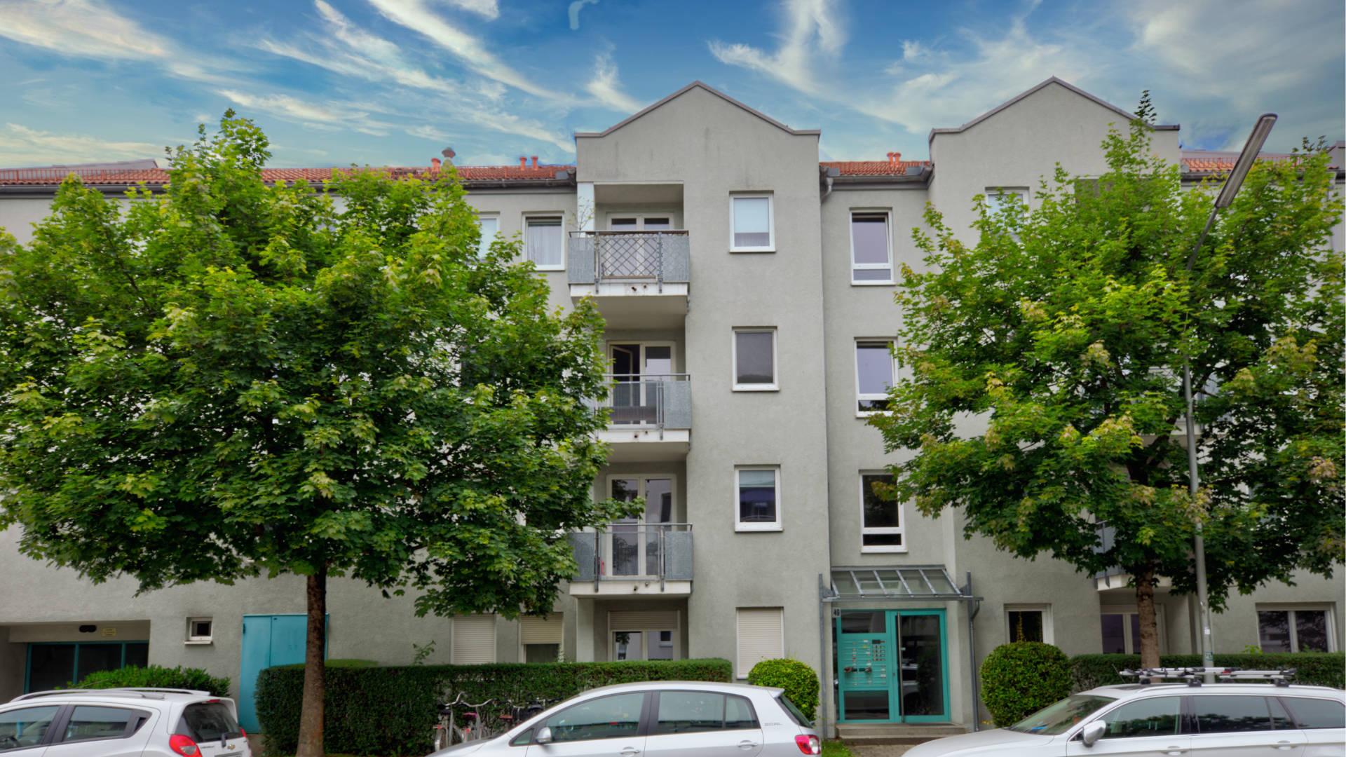 Hübsche Wohnung mit perfektem Grundriss und Balkon
