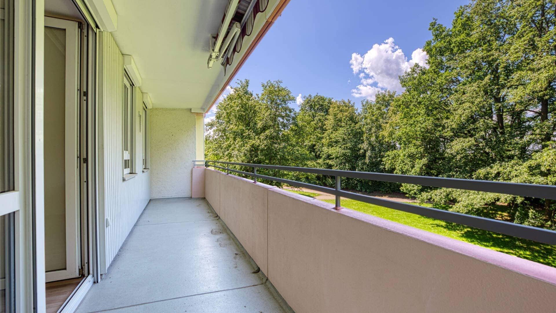 Aubing Wohnung Balkon