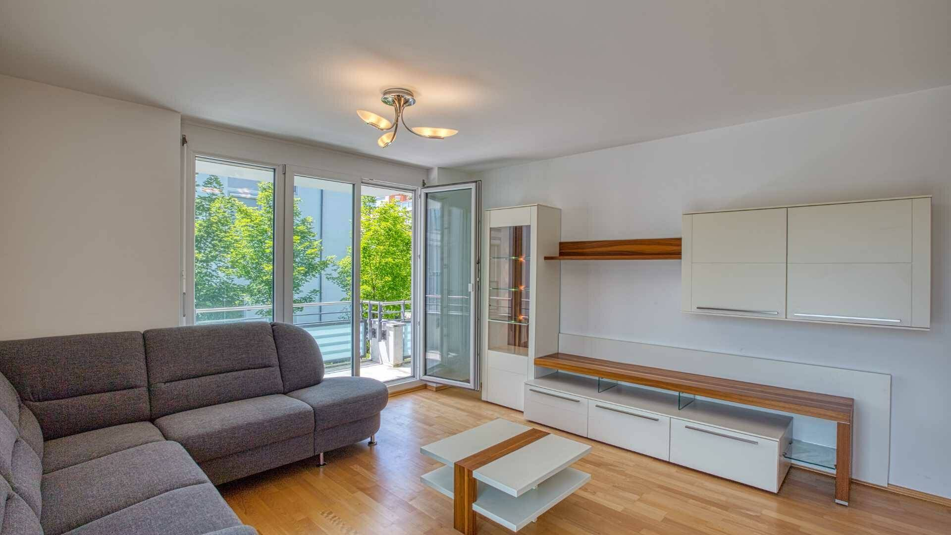 Bogenhausen Wohnung mieten Wohnzimmer