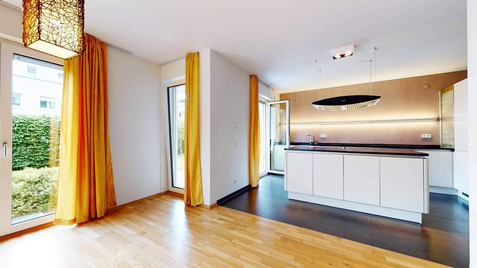 Bogenhausen Wohnung Wohnzimmer
