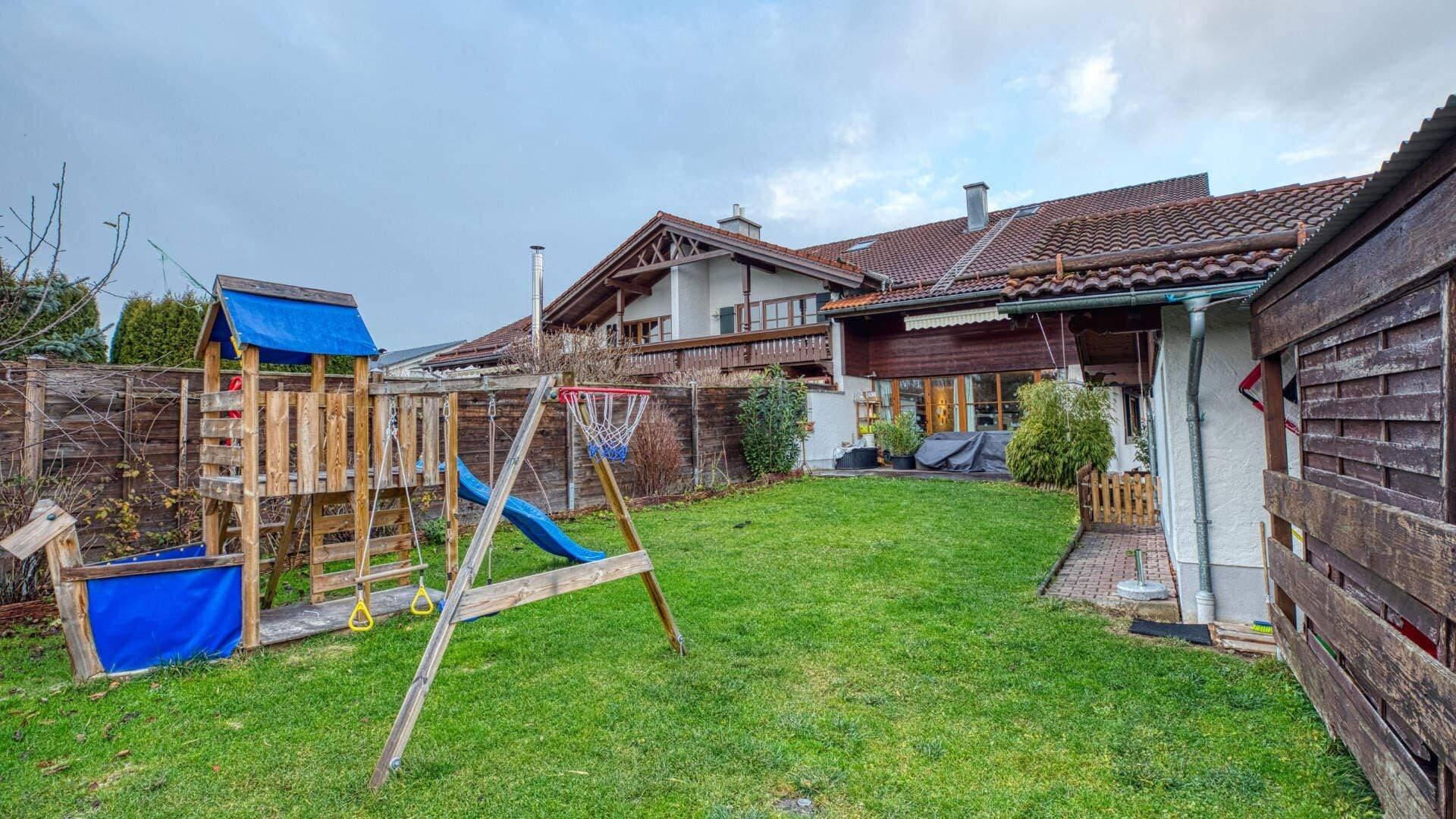 Bruckmühl Wohnung Garten