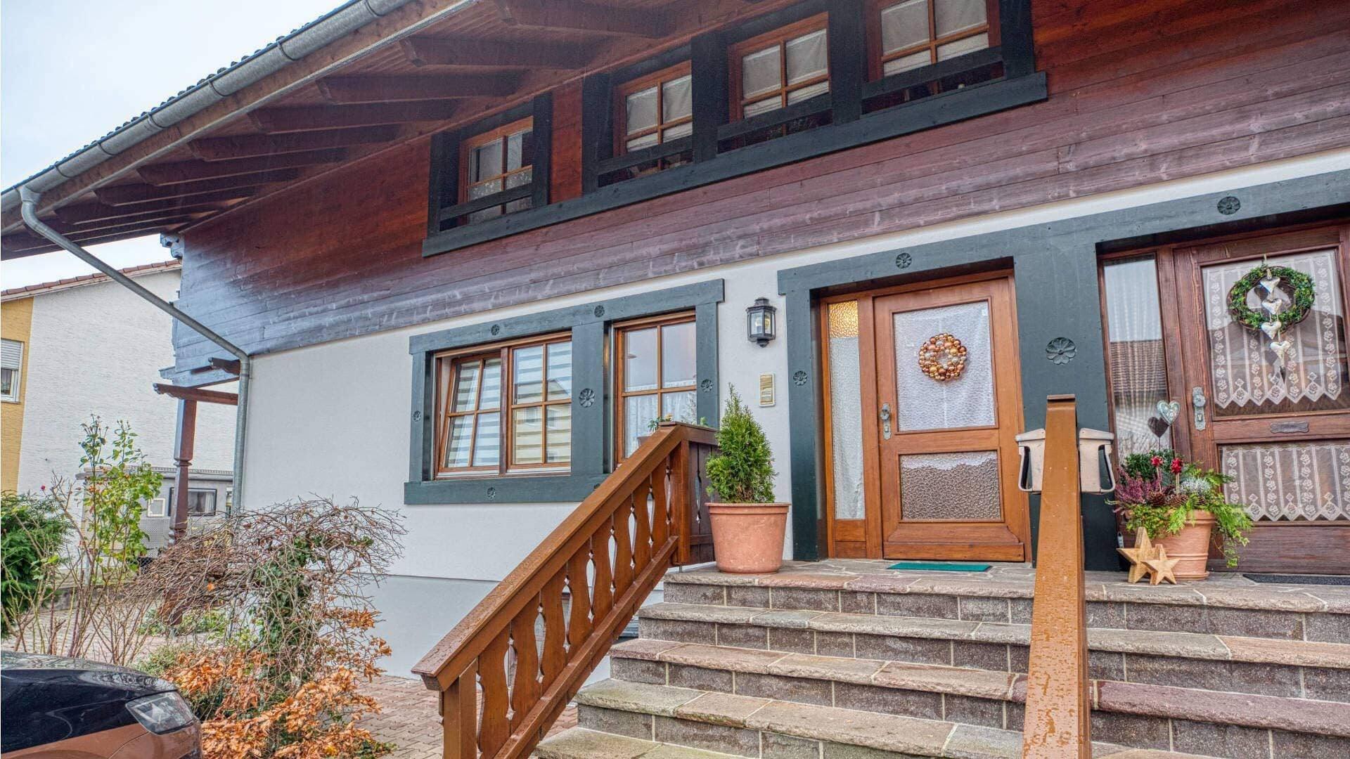 Bruckmühl Wohnung Hausansicht
