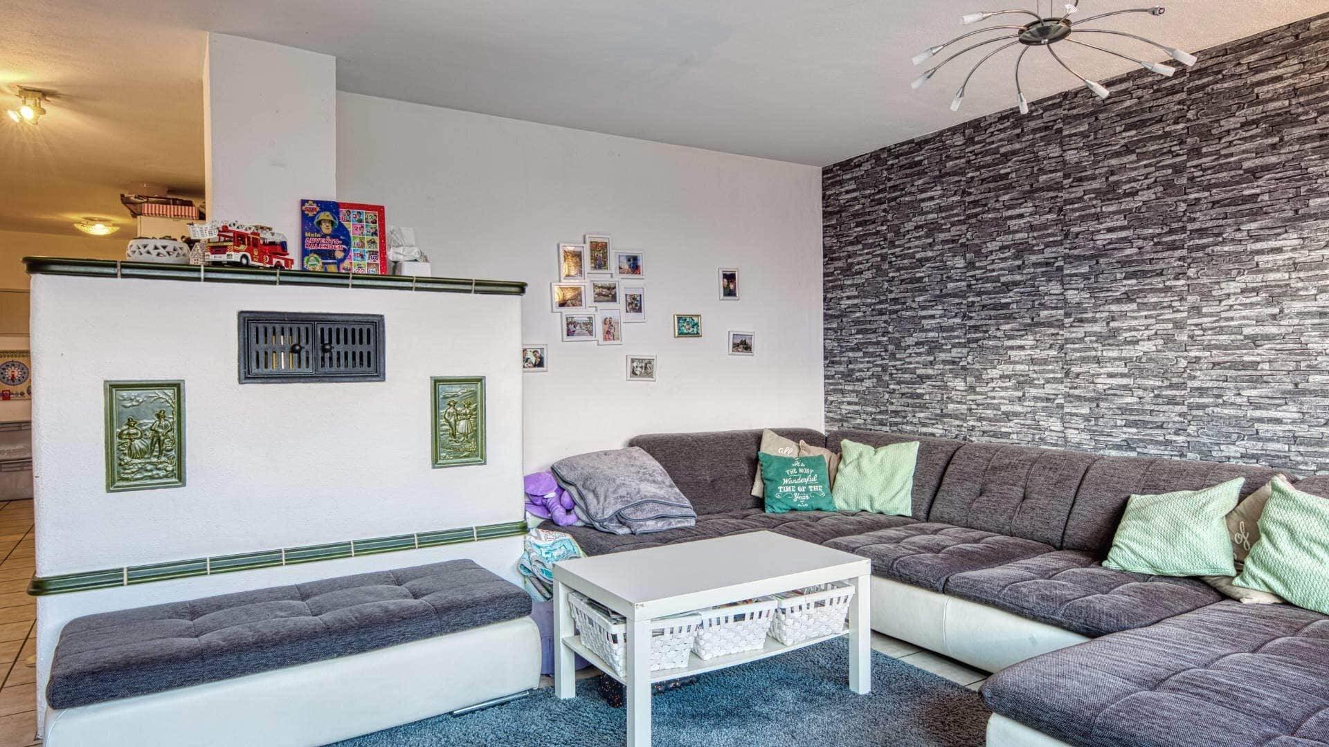 Bruckmühl Wohnung Wohnzimmer