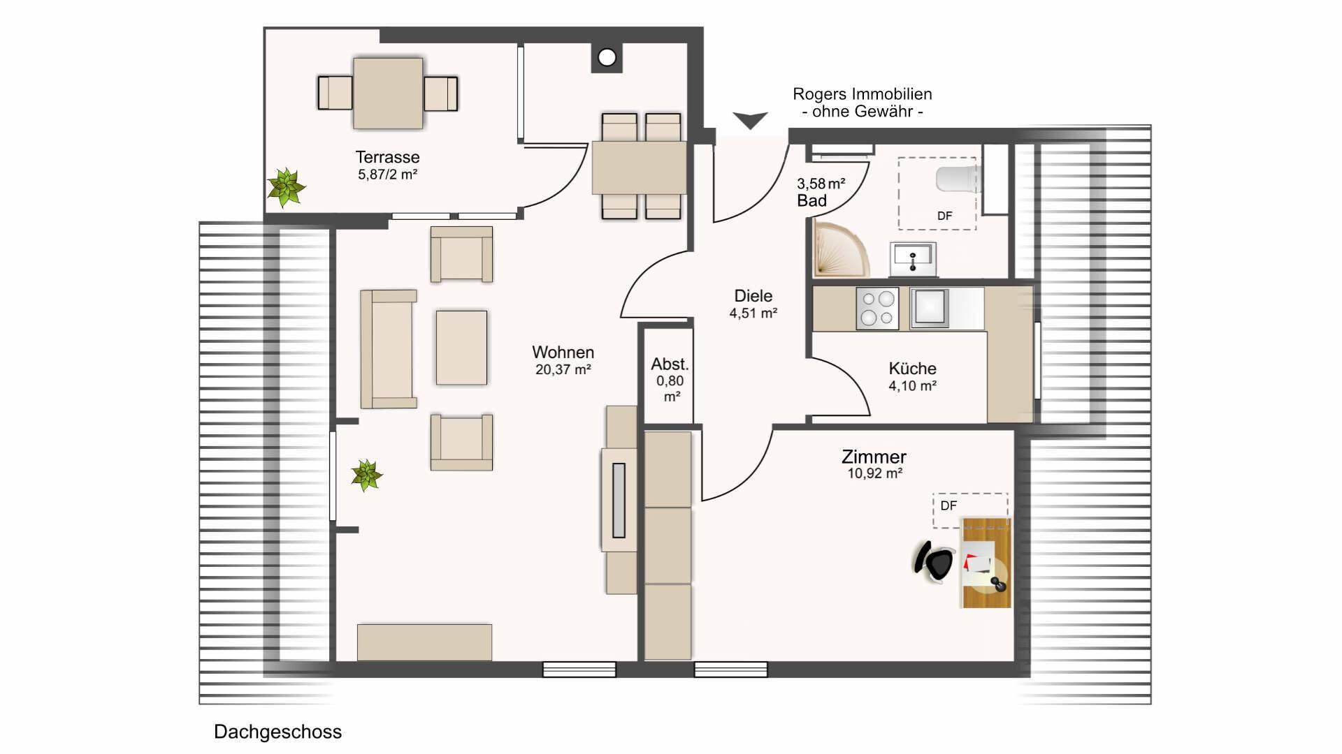 Feldmoching Wohnung Grundriss