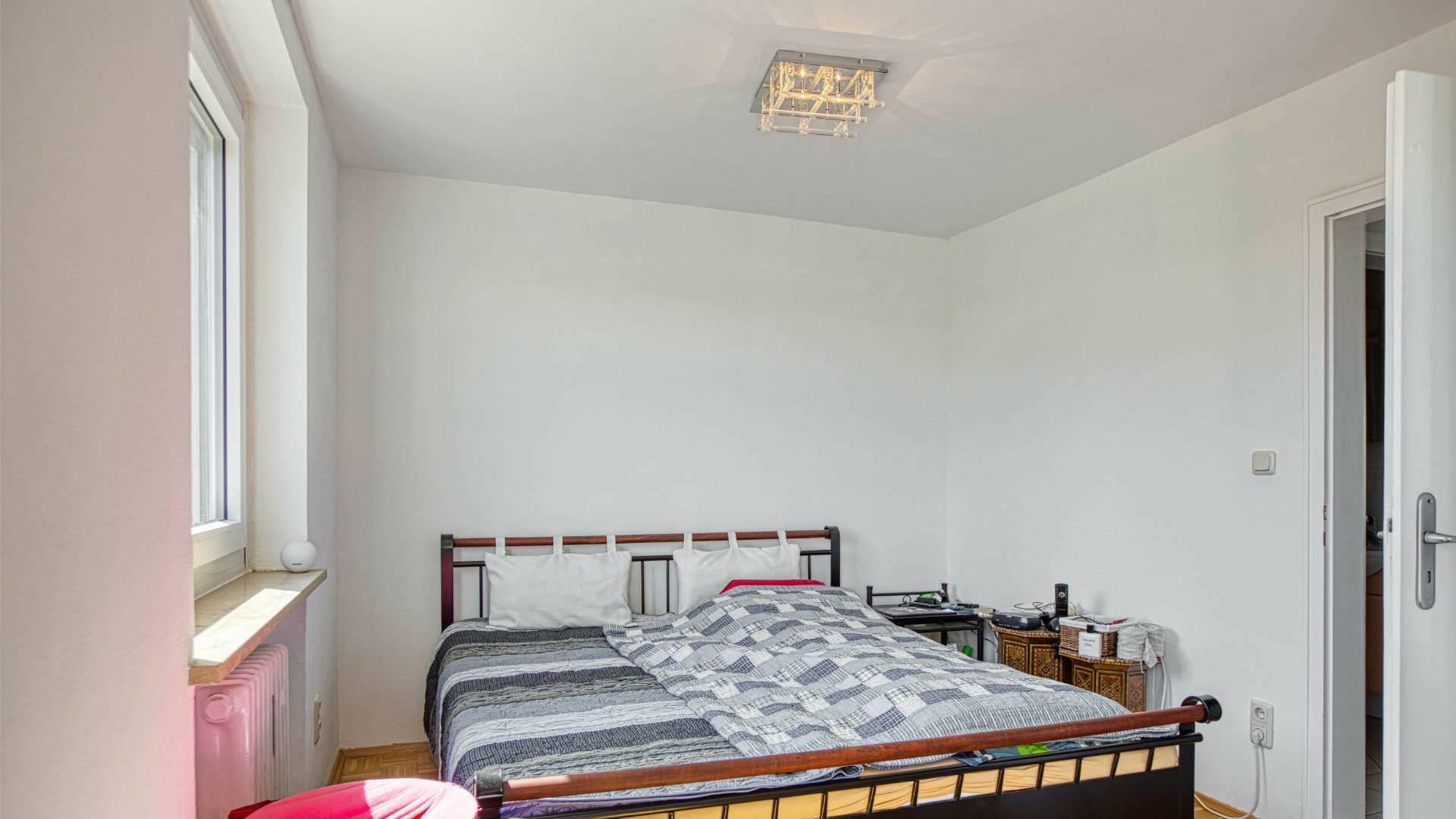 Forstenried Wohnung Schlafzimmer