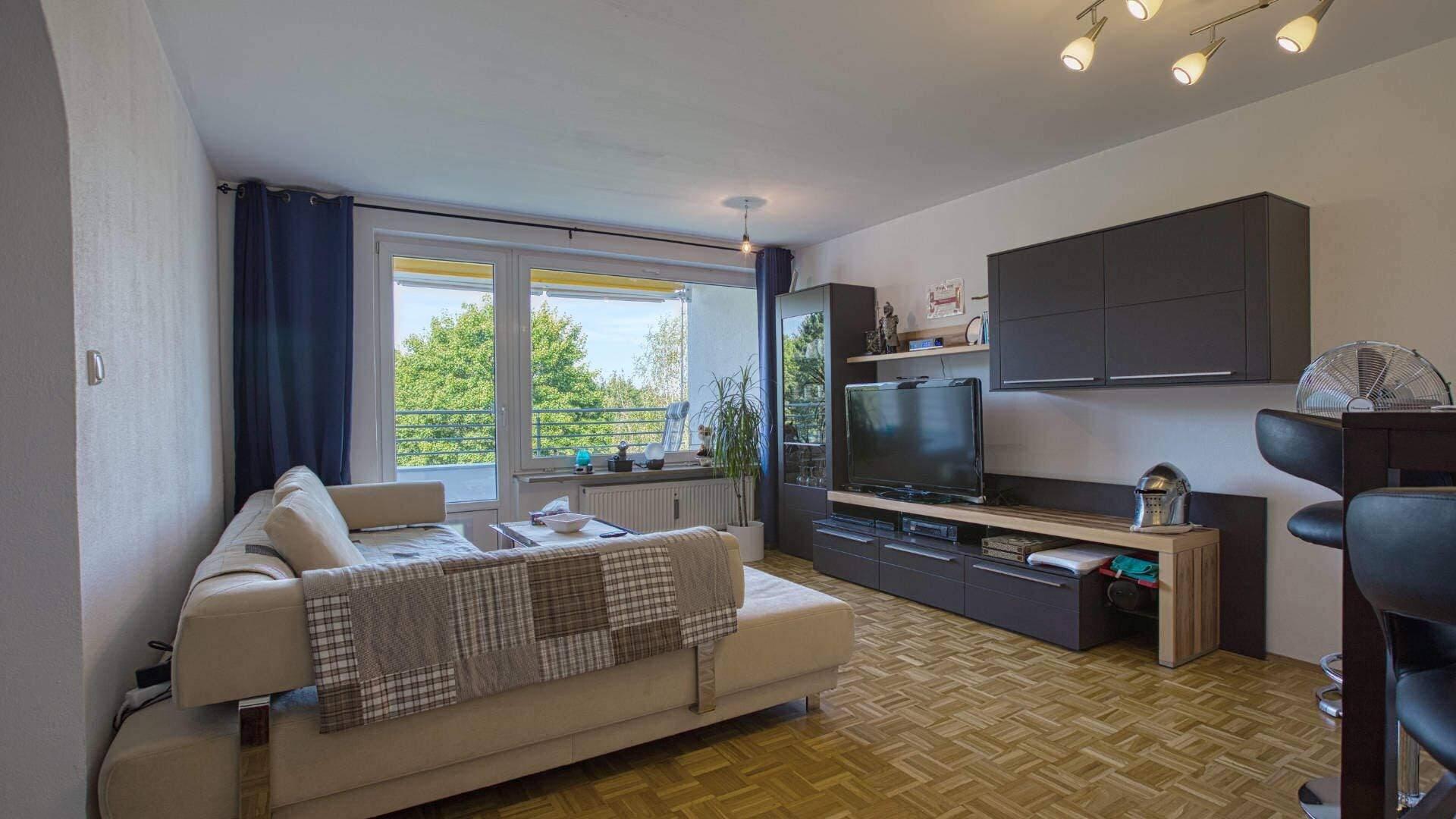 Forstenried Wohnung Wohnzimmer