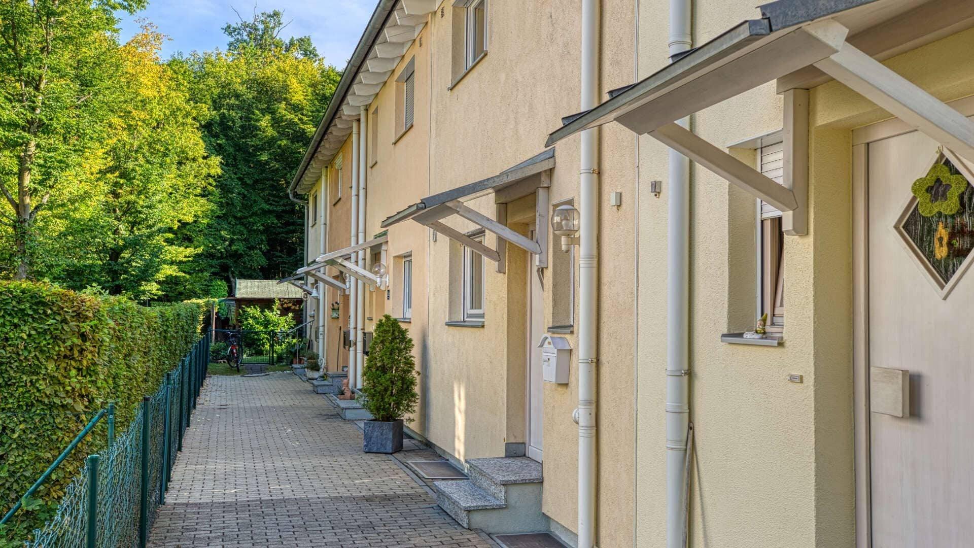 Germering Haus Zugang