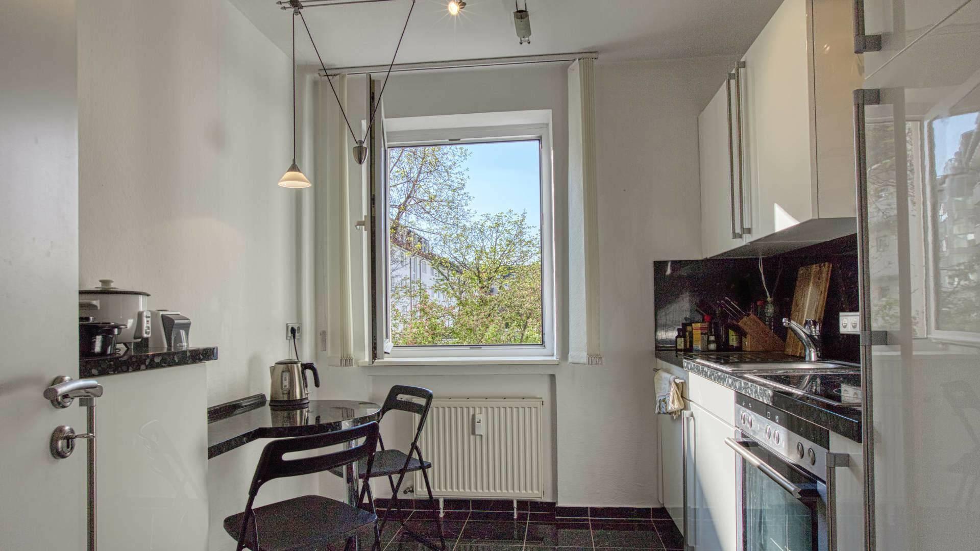 Maxvorstadt Wohnung Küche