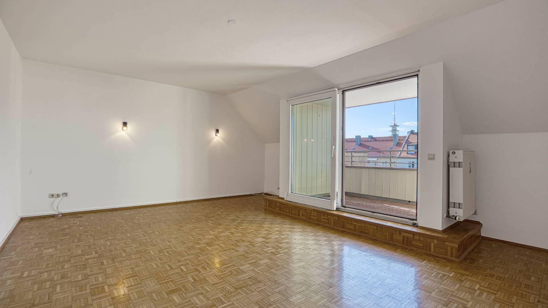 Maxvorstadt Wohnung Wohnzimmer